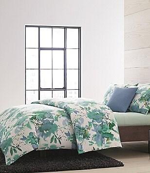 Calvin Klein Bayflower Floral Sateen Comforter Mini Set