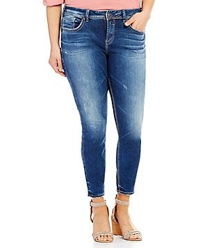 Silver Jeans Co. Plus Avery Ankle Skinny Jean