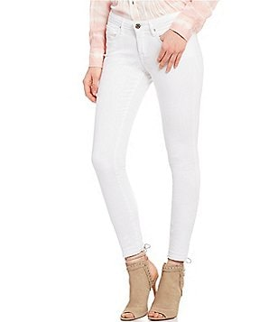 William Rast Release Hem Stretch Mid Rise Perfect Skinny Jeans
