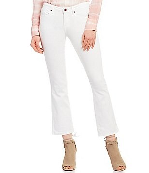 William Rast Flare Crop Jeans