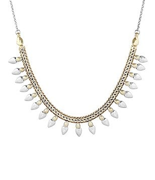 Lucky Brand Spike Collar Necklace