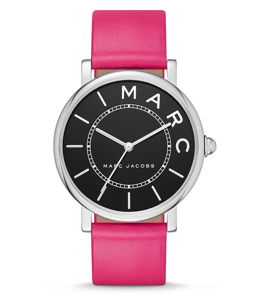 Marc Jacobs Roxy Analog Leather-Strap Watch