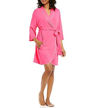 kate spade new york Let´s Stay In Bed French Terry Wrap Robe
