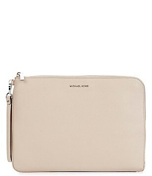 MICHAEL Michael Kors Studio Large Tech Zip Clutch