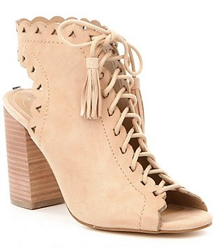 Guess Onila Lace Up Ghillie Sandals