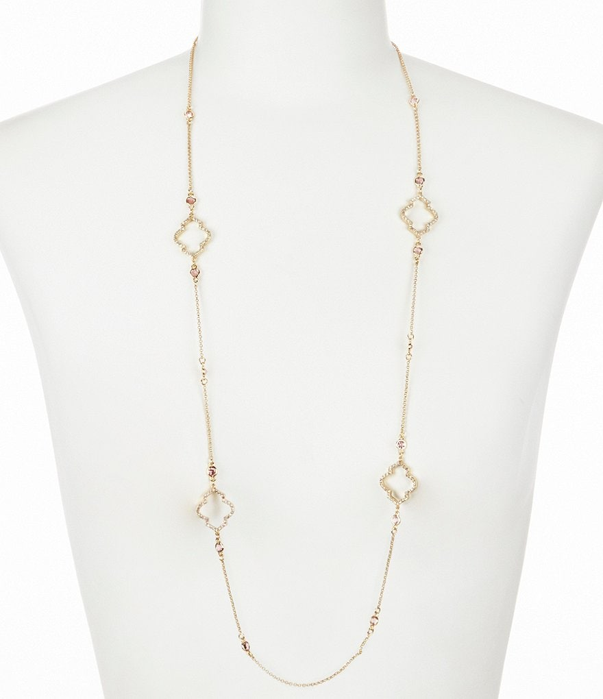 kate spade new york Lantern Gems Scatter Necklace
