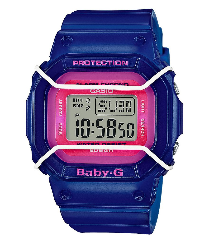 Baby-G Square Digital Watch