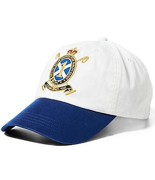 Polo Ralph Lauren Embroidered Crest Twill Cap