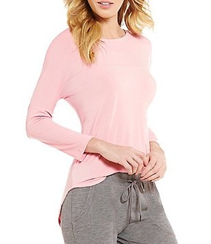 PJ Salvage Shirttail Sleep Top