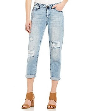 Liverpool Jeans Company Cameron Cropped Boyfriend Jeans