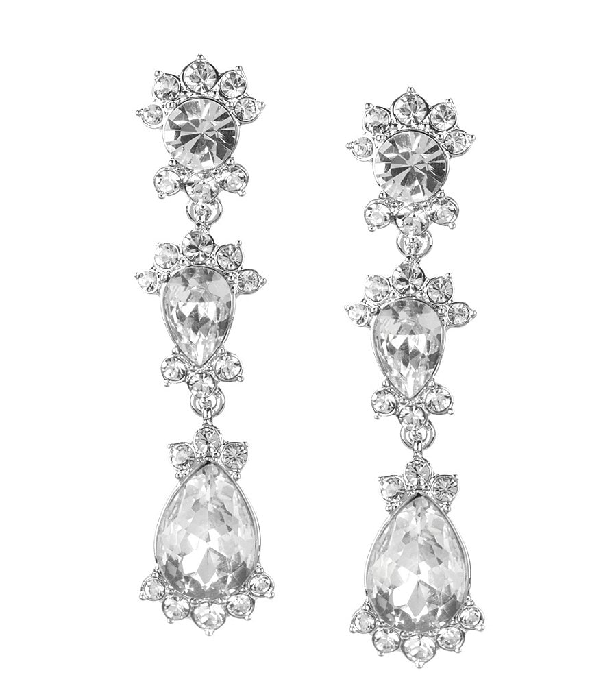 Givenchy Saville Linear Drop Earrings