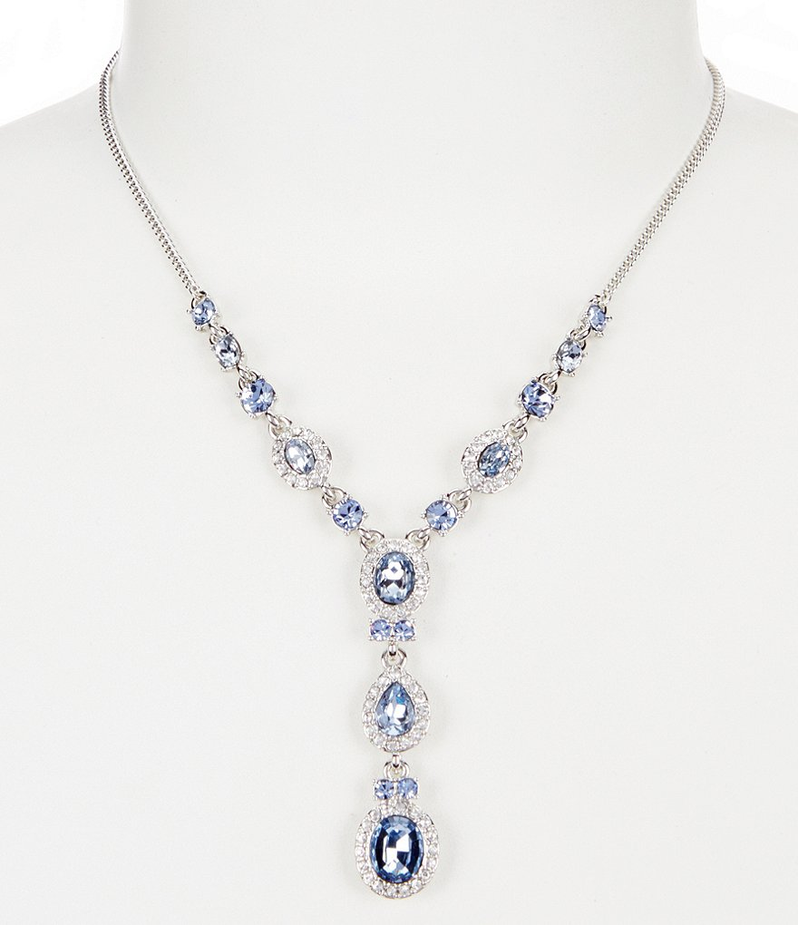 Givenchy Faux-Sapphire Y-Necklace