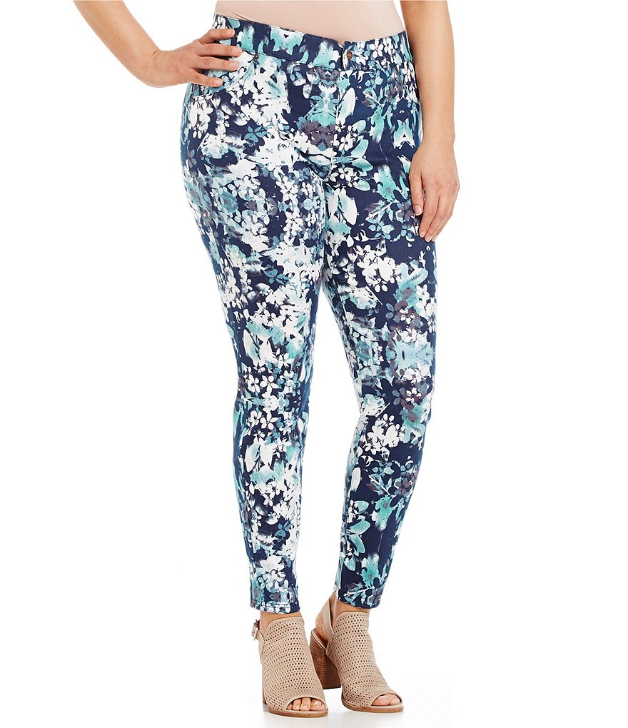 HUE Plus Bouquet Essential Leggings