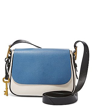 Fossil Harper Colorblocked Small Cross-Body Bag