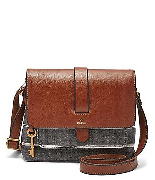 Fossil Small Kinley Striped Cross-Body Bag