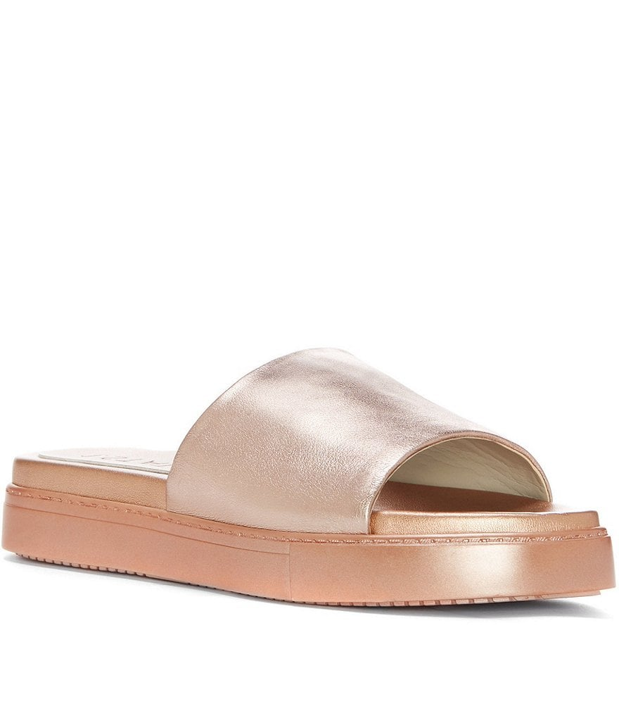 1. STATE Joaquin Leather Slide Sandals