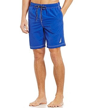 Nautica Quick Dry Nylon Swim Trunks