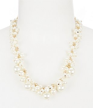 Dillard´s Tailored Faux-Pearl Bubble Necklace