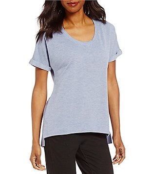 Half Moon by Modern Movement French Terry Dolman Lounge Top