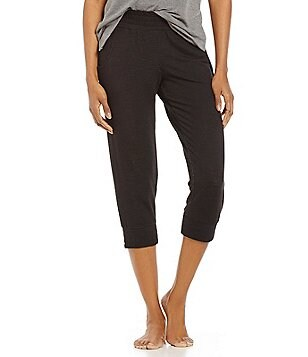 Half Moon by Modern Movement Cropped French Terry Dorm Jogger Pants