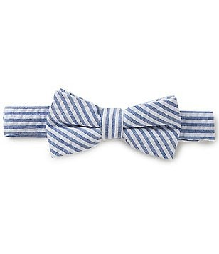Starting Out Baby Boys Seersucker Bow Tie