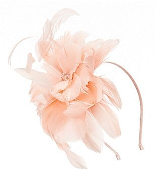 August Hats Fairlady Feather Fascinator