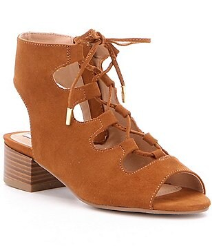 Steve Madden Girl´s Nilunda Ghilley Lace-Up Block Heel Sandal