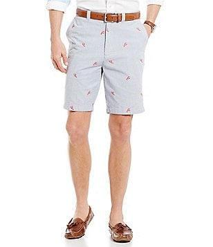 Cremieux St Tropez Yacht Club Collection Madison Embroidered Lobster Shorts