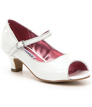 Steve Madden Girl´s Bayylee Peep Toe Mary Jane Dress Shoes