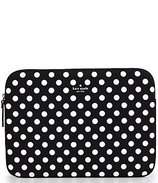 kate spade new york Dotted Neoprene Laptop Sleeve