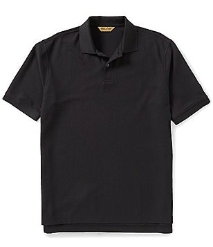 Gold Label Roundtree & Yorke Big & Tall Non-Iron Short-Sleeve Solid Polo