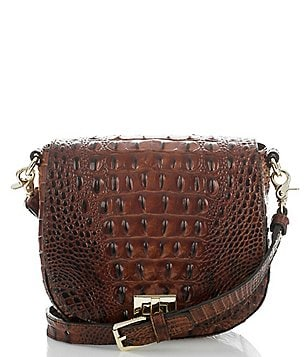 Brahmin Melbourne Collection Mini Sonny Saddle Bag