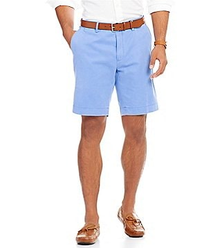 Polo Ralph Lauren Classic-Fit Flat-Front Twill Pima Cotton Shorts