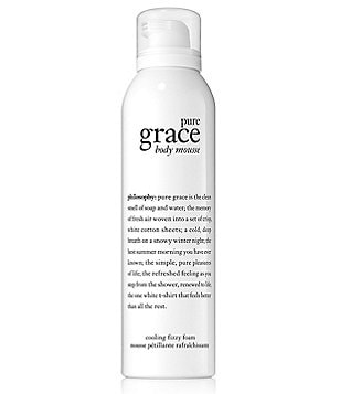 philosophy pure grace body serum mousse
