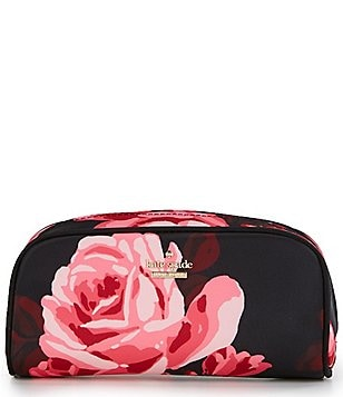 kate spade new york Classic Nylon Berrie Floral Cosmetic Case
