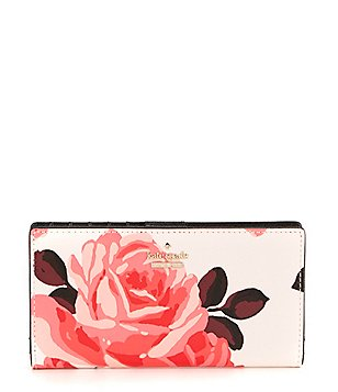kate spade new york Cameron Street Stacy Roses Continental Wallet