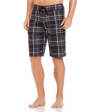 O´Neill Santa Cruz Plaid Board Shorts