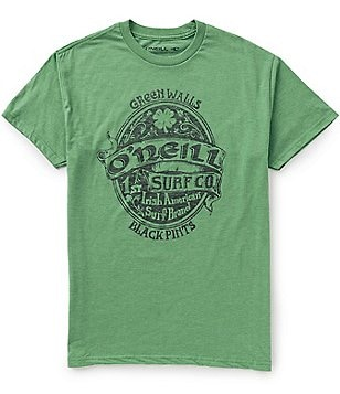 O´Neill St. Patty´s Short-Sleeve Crewneck Graphic Tee