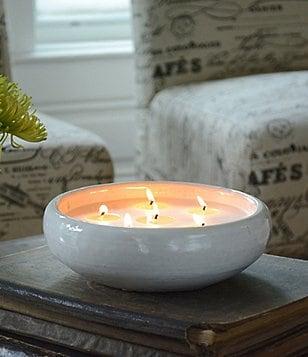 Flashpoint Candle Artisan Saxon Vanilla Bean & Citron Multi-Wick Pottery Candle