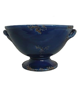 Artimino Sorrento Embossed Earthenware Footed Bowl