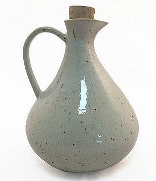 Southern Living Speckled Stoneware Oil Bottle