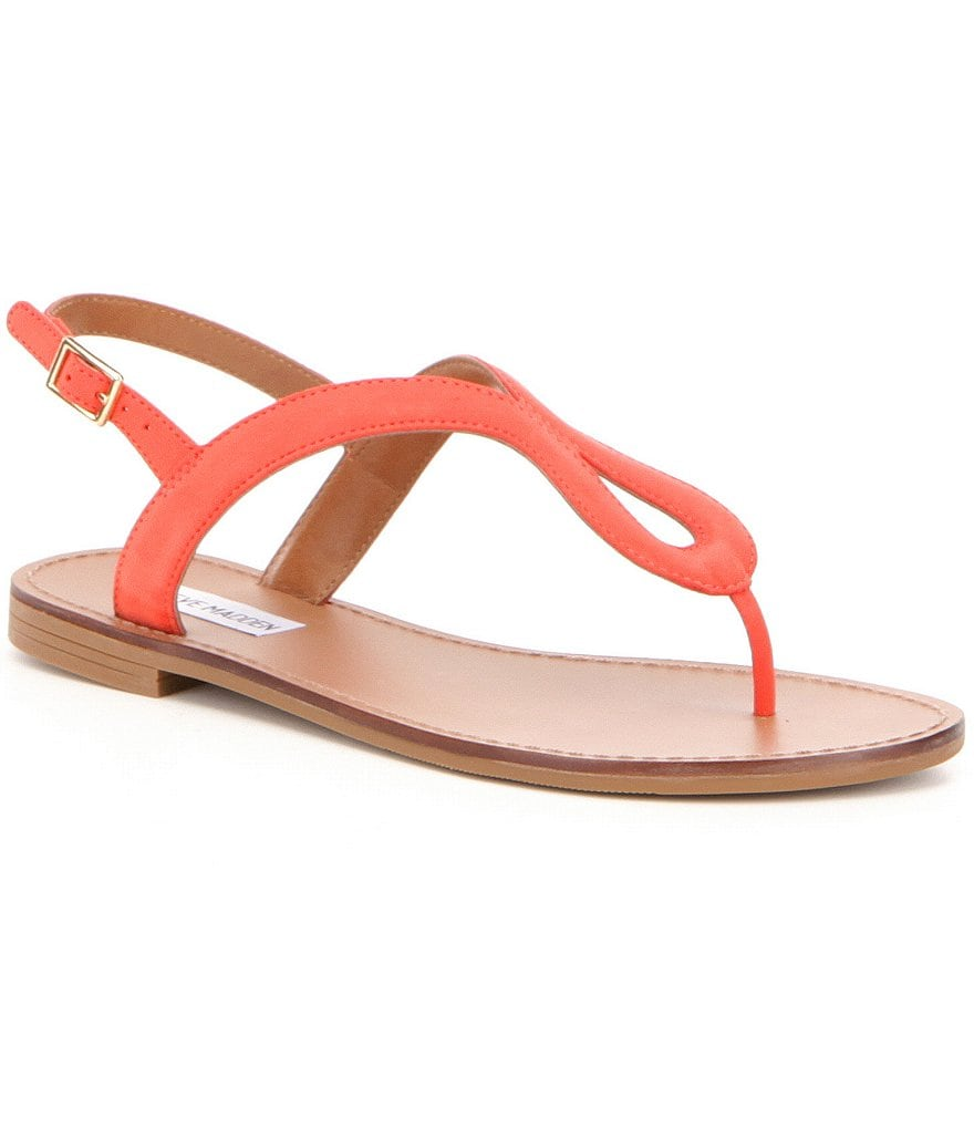 Steve Madden Takeaway Ankle Strap Thong Sandals