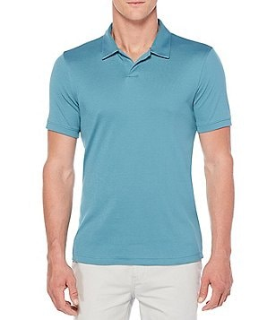 Perry Ellis Open Short-Sleeve Polo Shirt