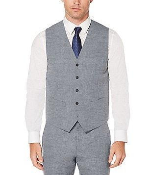 Perry Ellis Slim-Fit End-On-End Vest