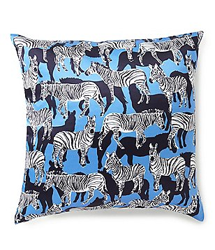 kate spade new york Zebra Silk Pillow