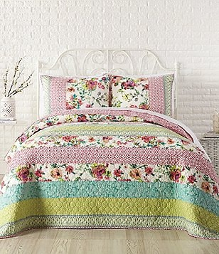 Jessica Simpson Boho Garden Pieced Quilt
