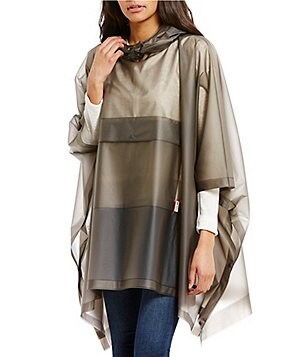 Hunter Original Vinyl Hooded Rain Poncho