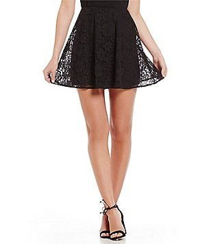 Armani Exchange Lace A-Line Skirt