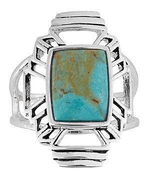 Barse Sterling Silver & Turquoise Ring