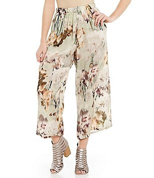 Bryn Walker Flood Floral Wide-Leg Pants